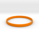 Good Value Bracelet in Orange Strong & Flexible Polished