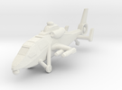 1/300 Chinese WZ-19 Scout Helicopter without Rotor in White Strong & Flexible