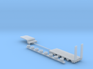 1:160/N-Scale 4-Axle Semitrailer 2 in Frosted Ultra Detail