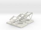 RC Jet set of HUD frames in White Strong & Flexible