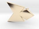 Phoenix Sash Stud Earring (.333in) in 14K Gold