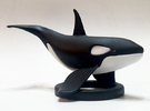 Orca Upper - Solid Version in Black Strong & Flexible