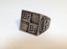 BrBa ring size 8 in Stainless Steel