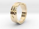 Ring Size U in 14K Gold