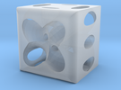 Dice64 in Frosted Ultra Detail