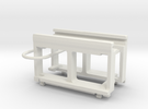Dummy Chassis Circuit Board Mount - N Scale 1:160 in White Strong & Flexible