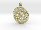 Metis pendant in 18K Gold Plated