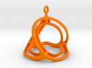 Spherohedron in Orange Strong & Flexible Polished