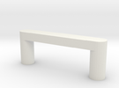 Modern Cabinet Handle in White Strong & Flexible