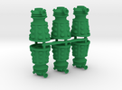 Dalek Post Version A (six pack) in Green Strong & Flexible Polished
