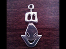Mask in Polished Silver
