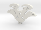 Imas pendant in White Strong & Flexible