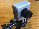 Fatshark 700TVL Camera GoPro Mount in White Strong & Flexible