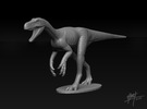 Herrerasaurus 1/40 in White Strong & Flexible