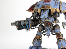 Wolf Ice Cannon compatible w/ Imperial Knight tita in Frosted Ultra Detail