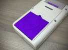 Battery Cover compatible to Nintendo® Game Boy™ in Purple Strong & Flexible Polished