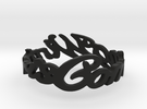 winter-is-coming-final Ring Size 7 in Black Strong & Flexible