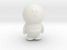 Doraemon hollow in White Strong & Flexible