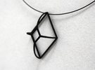 Cut-Off Diamond Curved in Black Strong & Flexible