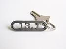 13.1 Half Marathon Keychain in Stainless Steel