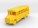 1/144 29 Passenger Bus in Yellow Strong & Flexible Polished