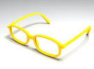 unisex glasses - type 2 in White Strong & Flexible