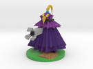 Gemini in Purple in Full Color Sandstone