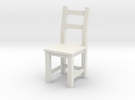 1:24 Ivar Chair (not full size) in White Strong & Flexible