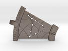 Capricorn Constellation Pendant in Stainless Steel
