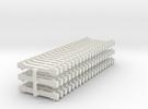 60 NEM-bars 6mm in White Strong & Flexible