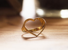 HEART 5 in 18k Gold Plated