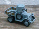 Armoured Car for Car Wars etc. 1/72 scale. in Frosted Ultra Detail