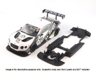 S06-ST4 Scalextric Bentley GT3 SSD/STD in White Strong & Flexible