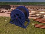 N Scale Steel Cable Reel (Full)