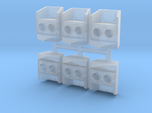 SP Nose Cluster Gyralight Removed (HO - 1:87) 6X