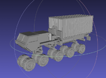 1/144 Hemtt M1120 LHS with 20ft Container