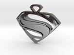 Superman Man Of Steel Pendant