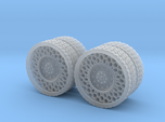 Airless Tires 1:35 - pattern 2