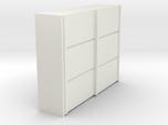 A 019 sliding closet Schiebeschrank 1:87