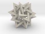 "Tetrahedron 5 Compound, 2.4"" diameter"