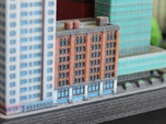 New York Set 1 Apartment Building with Shops 3 x 2