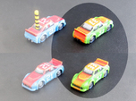Miniature cars, NASCAR (42 pcs)