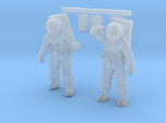 1: 48 Apollo Astronaut a7lb Type / Set l