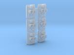 SP Full Rear Cluster (Angled)(HO - 1:87) 6X