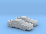 1/160 1987-93 Ford Mustang