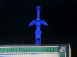 Zelda Master Sword Bookmark