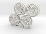 Bead-lock Stock offset 7mm hex - Losi McRC/Trekker