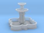 Barbed quatrefoil fountain (N 1:160)