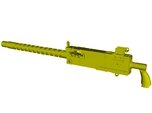 1/18 scale WWII US Browning M-1919A4 machinegun