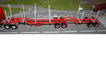 100a 102a Logger Trailer HO 1:87 B Double Set